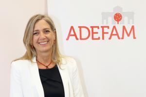La nueva presidenta de la Empresa Familiar de Madrid defiende conseguir amplios consensos con los partidos políticos y los empresarios